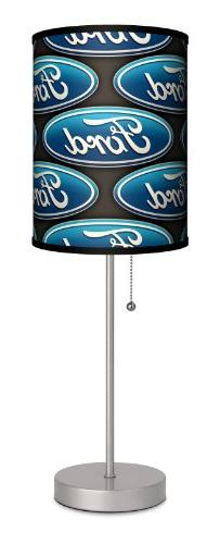 Ford - Oval Logo Sport Silver Lamp