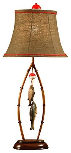 "East Enterprises Inc 22"" H Table Lamp with Bell Shade"