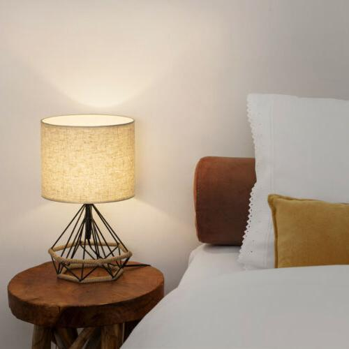 HAITRAL Table Lamps Minimalist Basket Cage Style