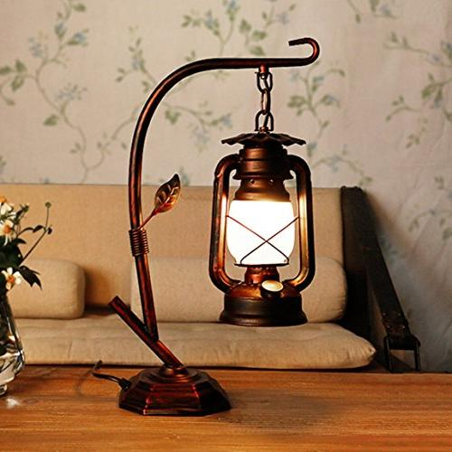 hzb american country vintage lamp