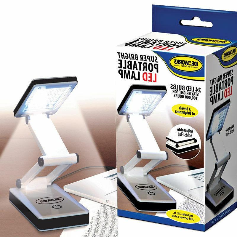 Ideaworks Super LED Lamp Travel Computer