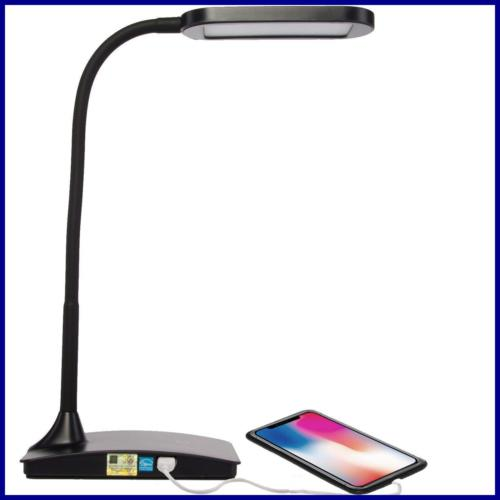 ivy 40bk the led desk lamp w