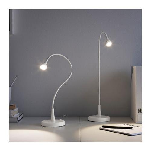 Ikea Jansjo White Color LED Goose Neck