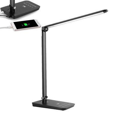 LE Dimmable LED Desk Read Lamp 7-Level Dimmer 8W 7 modes Tou