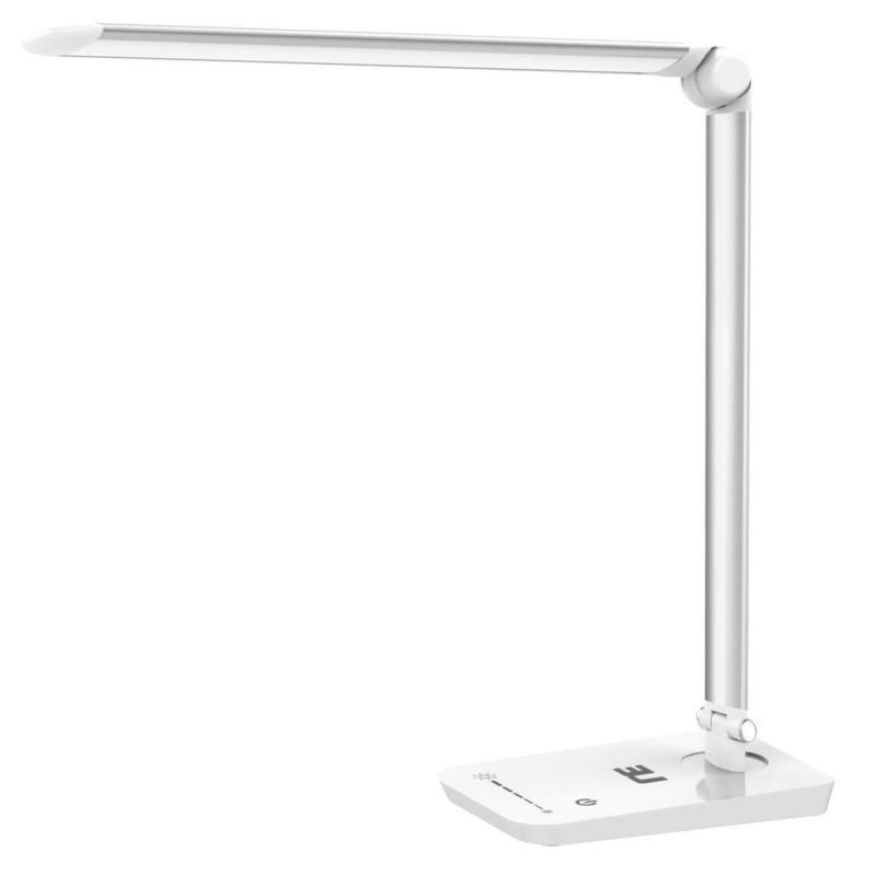 Le Dimmable Led Desk Lamp, 7 Dimming Levels, Eye-Care, 8W, T
