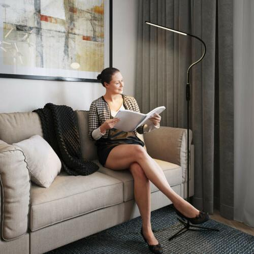 LED Lamp Standing Reading Home Office Dimmable Desk Table Remote