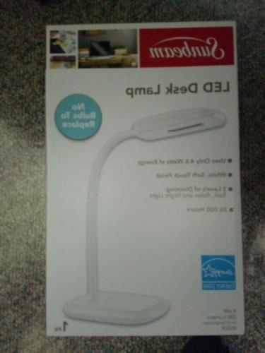 led desk lamp 3 touch dimming flexible