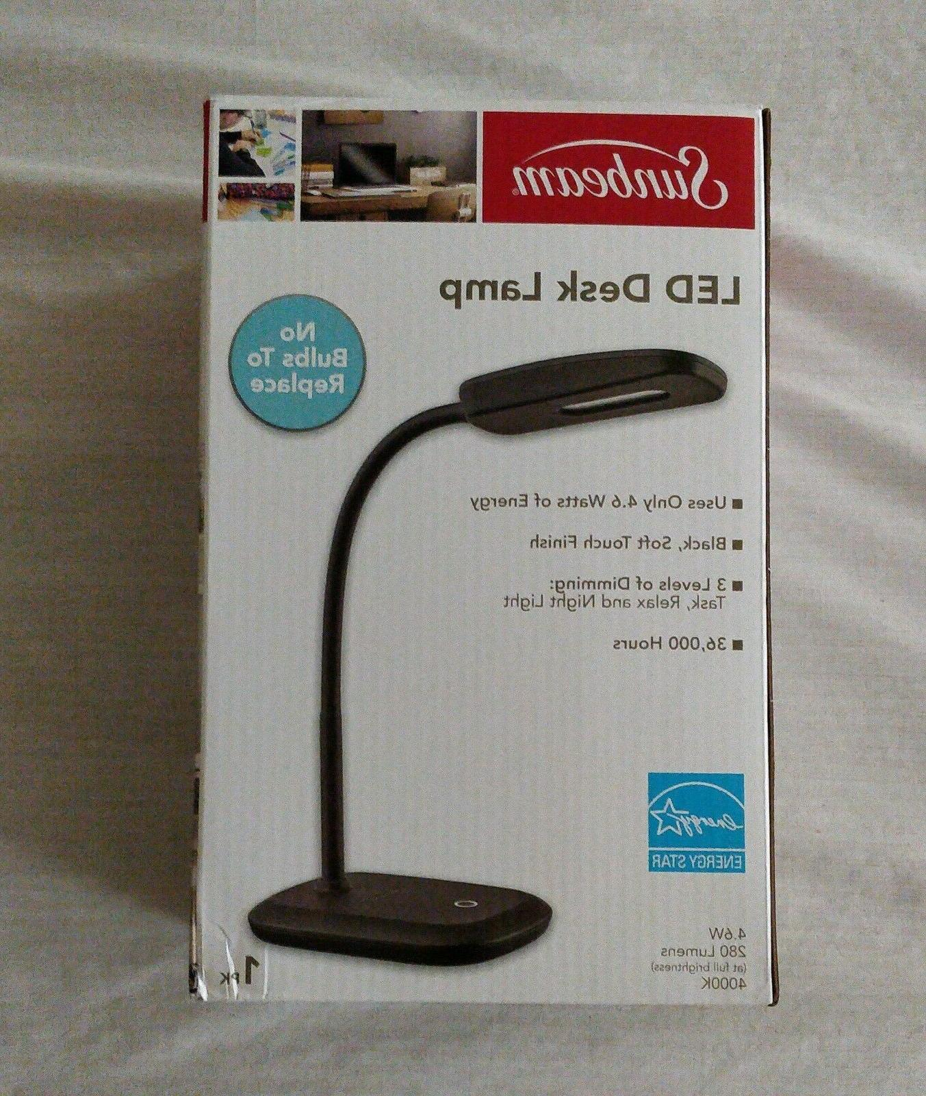 led desk lamp adjustable neck light energy