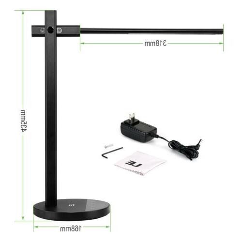LED Desk Lamp Adjustable Table Light with 3 Color Temperatur