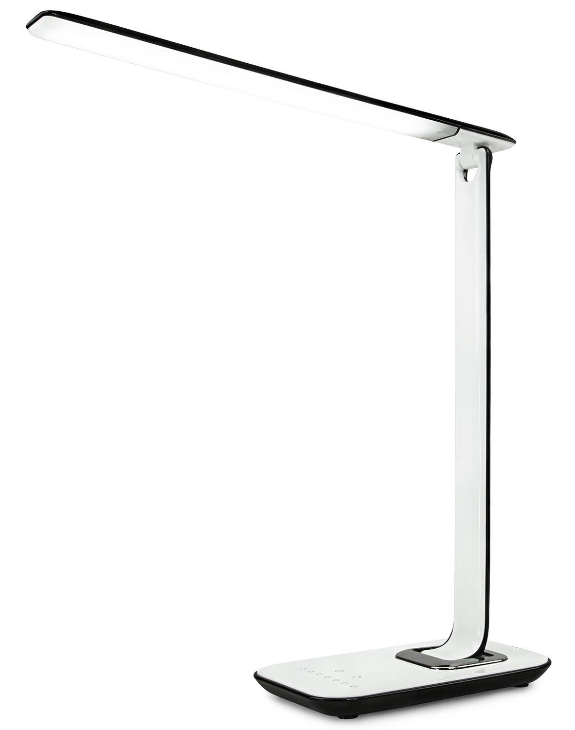 led desk lamp dimmable usb ports