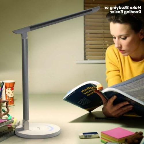 TaoTronics Eye-caring Table Dimmable Office with...