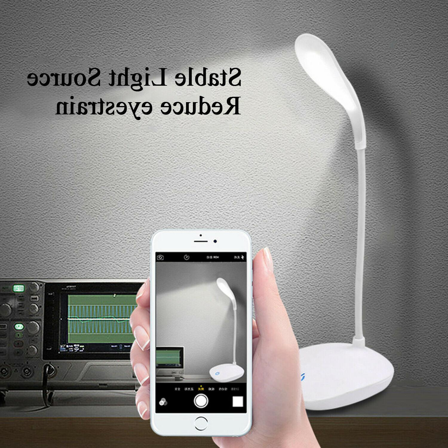 LED Desk Light Home Office Study Reading Dimmable