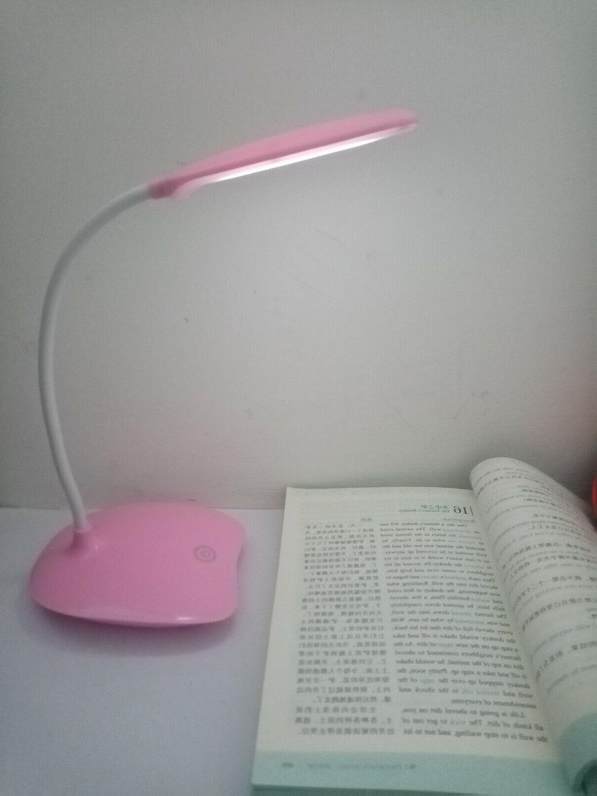 LED Reading Lamp Dimmable USB Rechargeable
