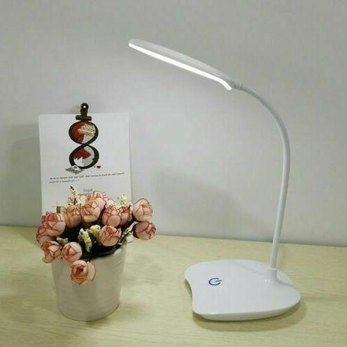 LED Reading Lamp Dimmable 3 USB light