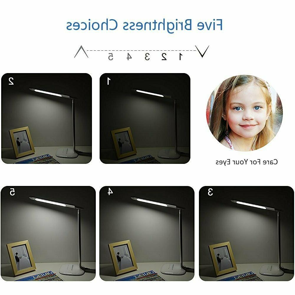 Modes Touch Lamp Table Light Eye-Caring Reading