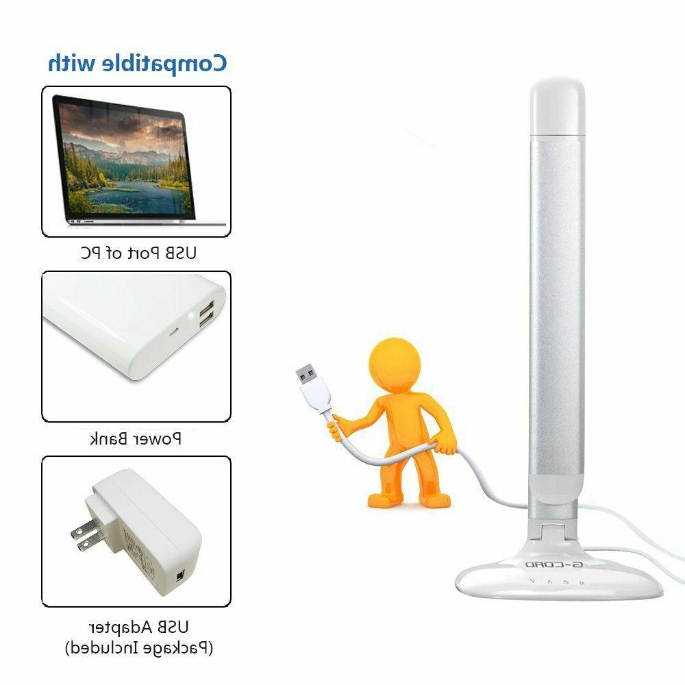 LED Dimmable 3 Modes Touch Lamp Eye-Caring Reading