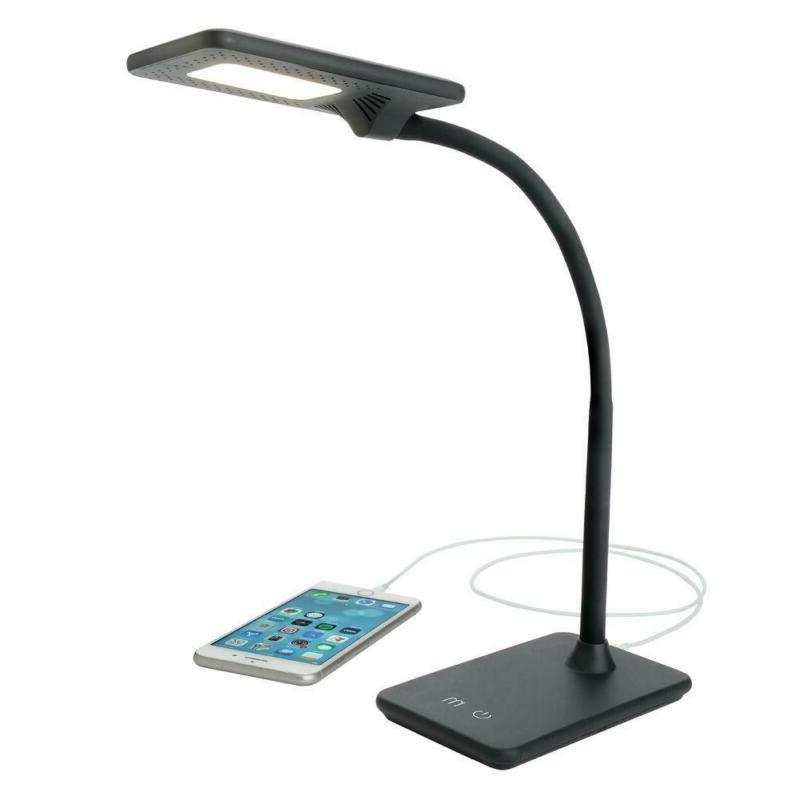 LED Feature Lamp with Change Black White