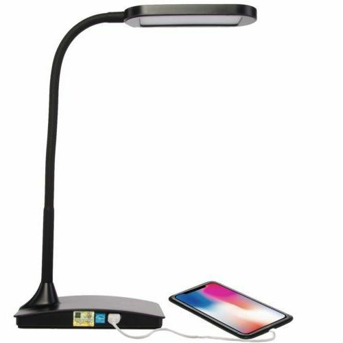 LED Lighting Computer Table Desk Lamp With Charging Variations