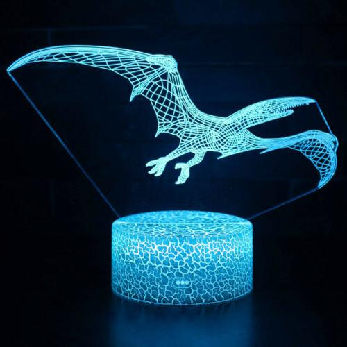 LED Night Dinosaur 3D Decor US