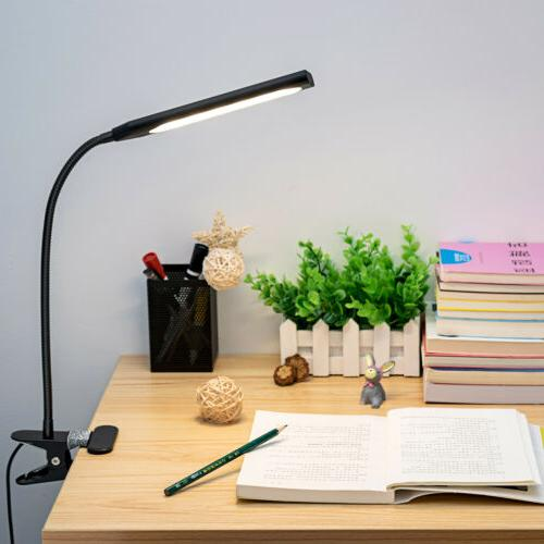 flexible led usb clip on table desk
