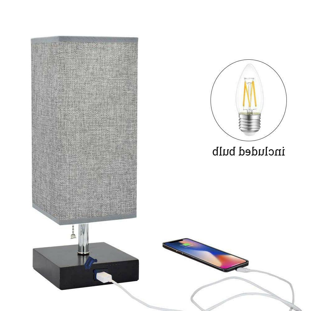 LED Bedside Table Lamp with Bedroom