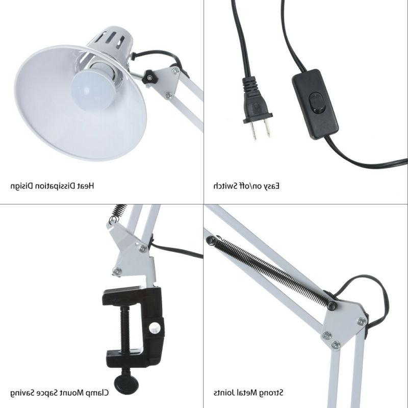Long Work Adjustable Folding Clip-on LED Light+Bulb