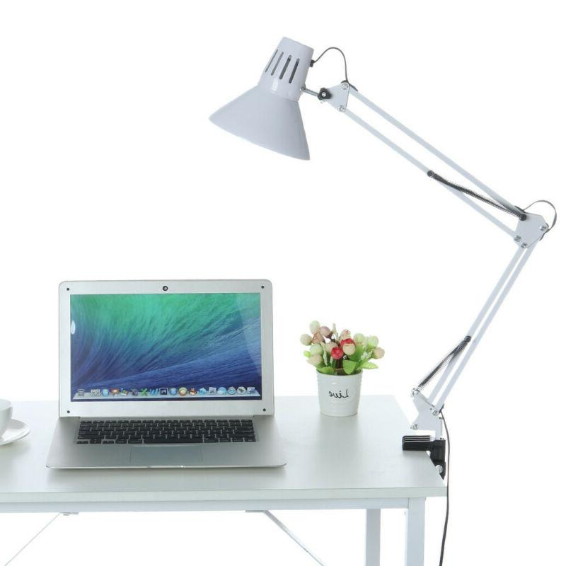 Long Arm Work Reading Adjustable Folding Clip-on Table