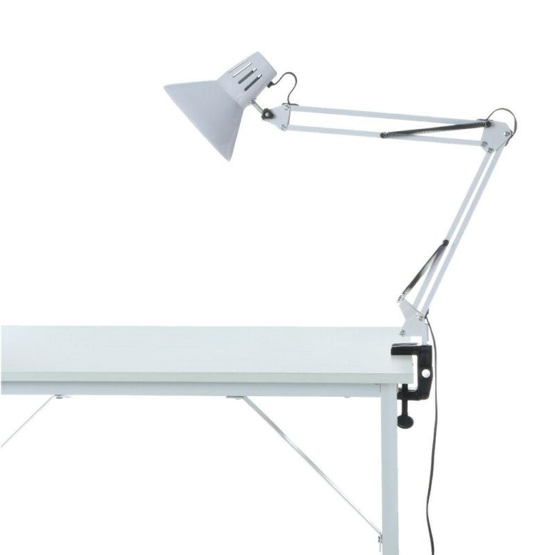 Clamp-on Desk Lamps Swing Arm Desk C-Clamp Table Classic Light