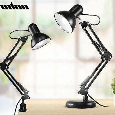Long Arm Lamp Work Reading Adjustable Clip-on Table Lamp