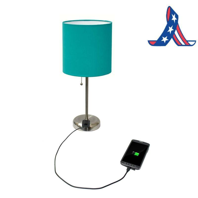 Lamp With Outlet