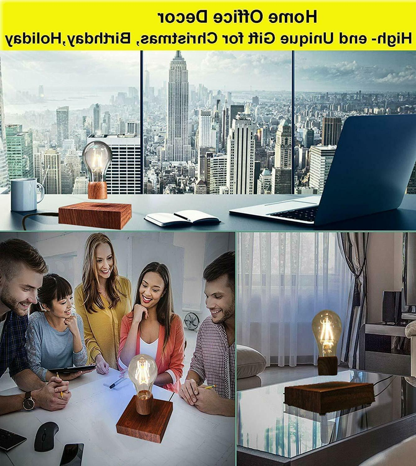 Magnetic Levitating Floating LED Light Bulb Lamp Unique