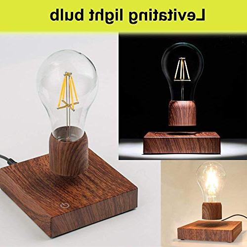 Magnetic Levitating LED Lamp for Gifts, Room Decor, Home Office Decor Desk Tech Rio Dee