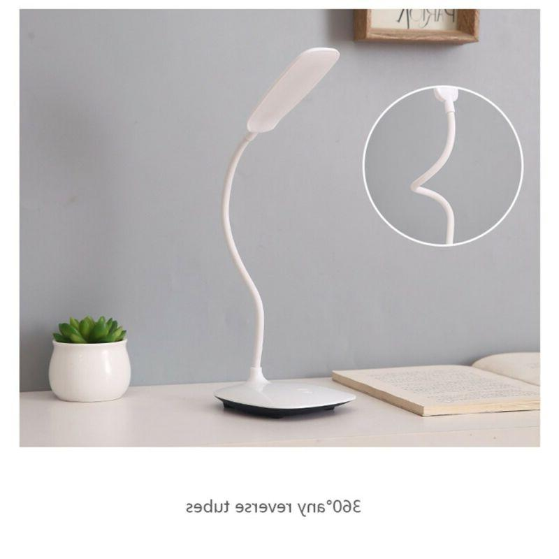 Table Light Lamp USB Charging Port Dimmable Lighting