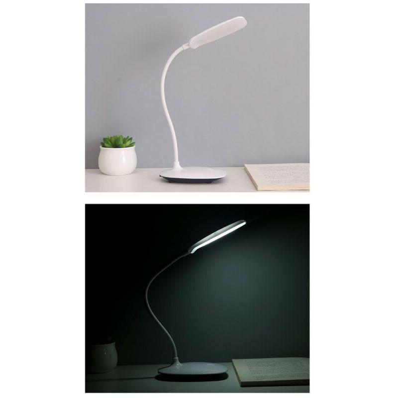 Table LED Lamp With USB Port Home Lighting