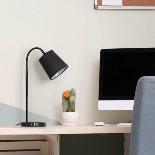 HAITRAL Modern Desk Table Beside Bedroom Light