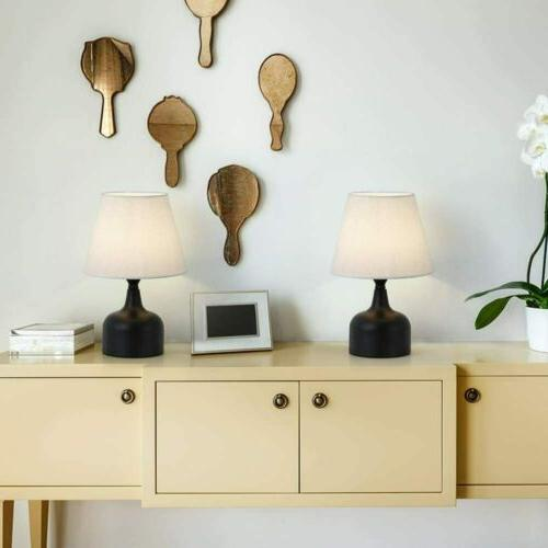 Modern Set Table/Desk/Beside Lamp Nightstand Bedroom Dorm