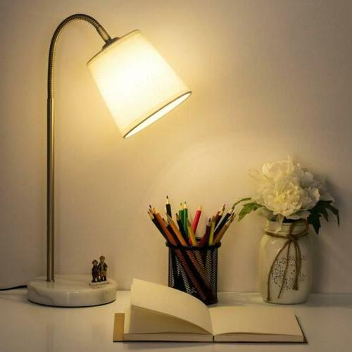 HAITRAL Bedside Desk Nightstand Table Lamp Idea Gift For Fam