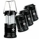 Etekcity 4PCS Portable Outdoor Collapsible LED Camping Lante