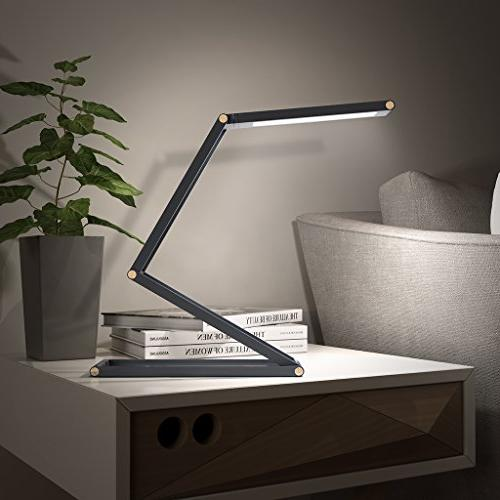 SLYPNOS Lamp with USB Dimmable LED 2 Aluminum Alloy Folding Wall Reading Studying Home Office