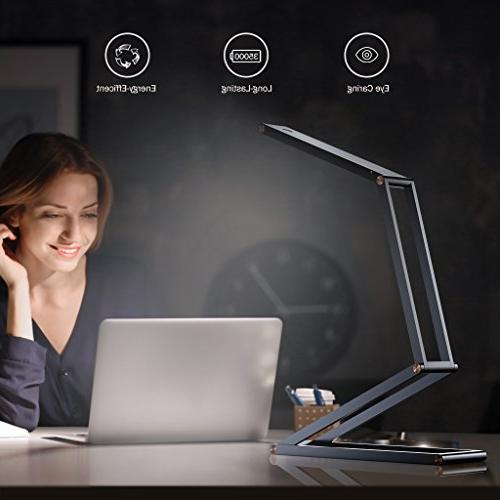 SLYPNOS with Rechargeable Dimmable Desk 2 Alloy Lamp with Wall