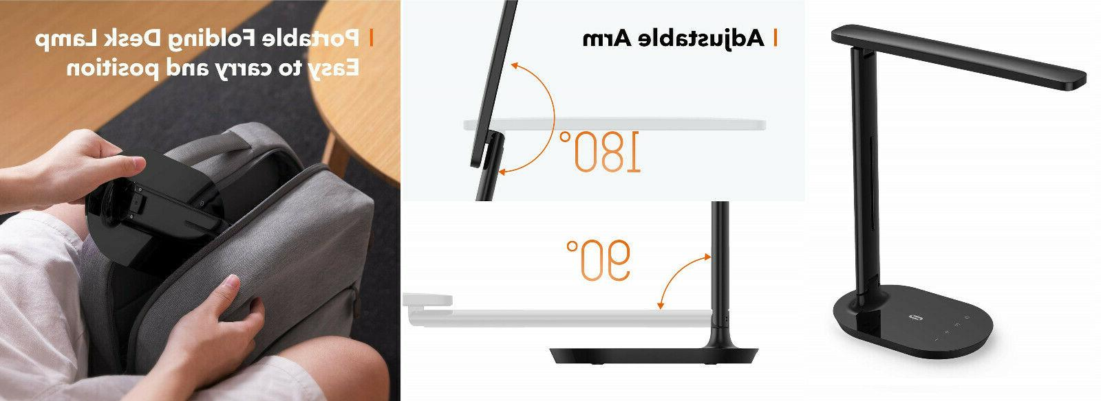 portable led desk lamp dimmable small desk