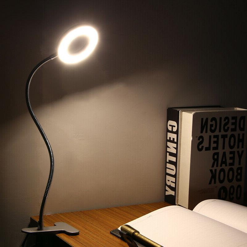 Portable Clip Table Reading Night Light