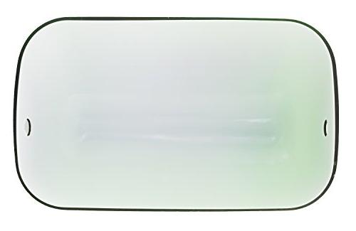 "RUDY Blue Glass Shade for Lamp - 2/3"" Width"