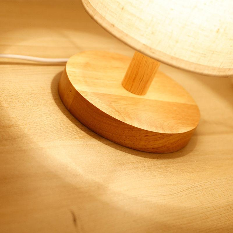 Round Shade Table Light Bedroom DecoratIon