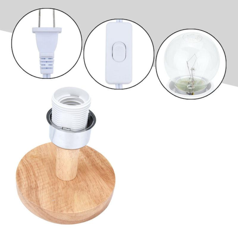 Round Shade Table Light Care DecoratIon