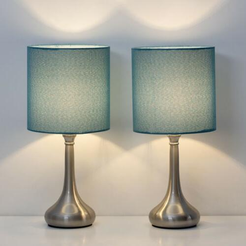 Set of Table Lamps Line Lamp Base