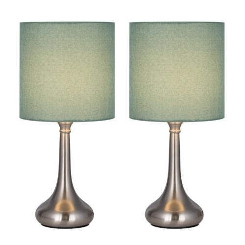 Table Lamps Modern Line Lampshade Lamp