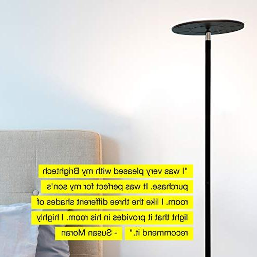 Modern Lamp for & Bedrooms - Warm - Tall Office - Minimalist Contemporary Uplight -