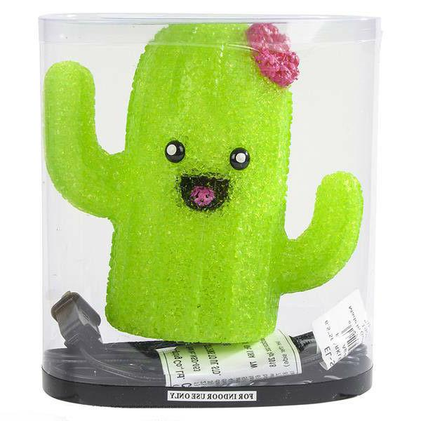 SMILEY CACTUS children table desk night light
