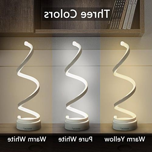 Makion LED Table Lamp, LED Lamp, Design, Light,Smart Acrylic for Bedroom